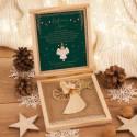 PREZENT świąteczny Aniołek Słomkowy w pudełku Z TWOIM PODPISEM