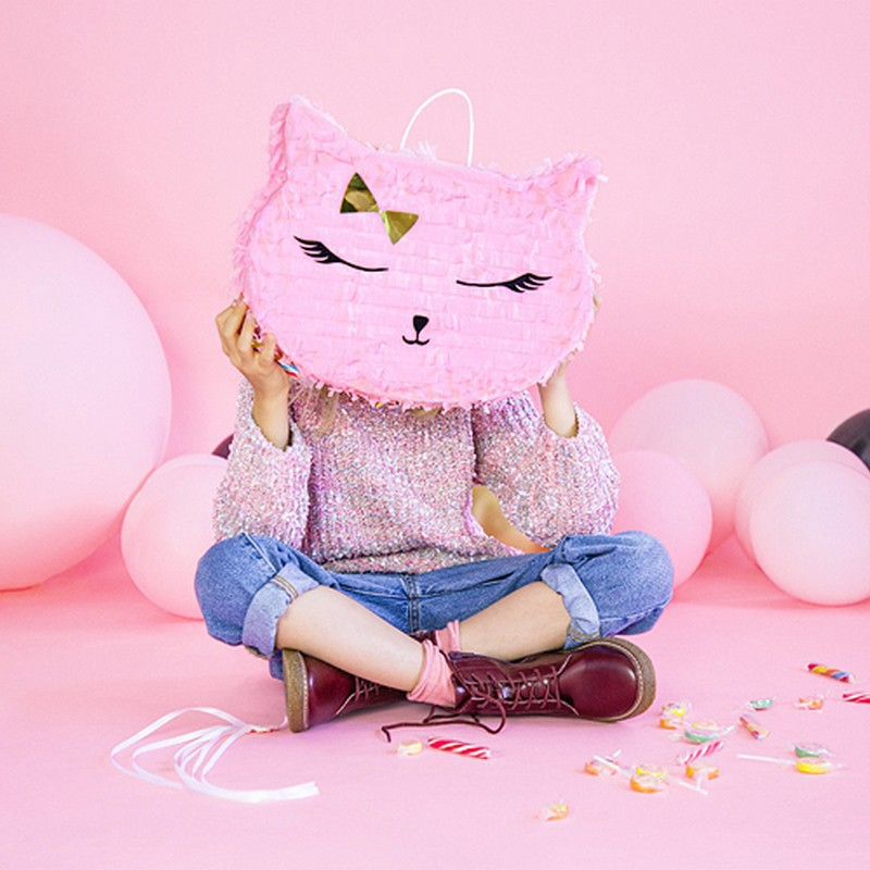 Piniata urodzinowa dla dziecka kotek