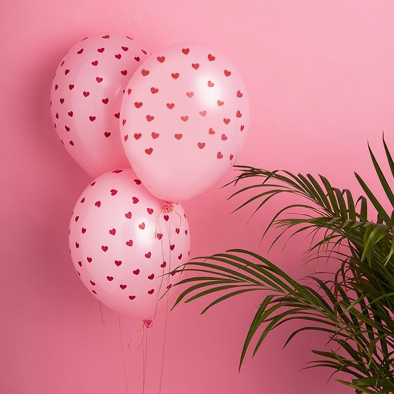 Balony na Walentynki