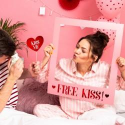 DEKORACJA na Walentynki ramka do zdjęć z ukochanym