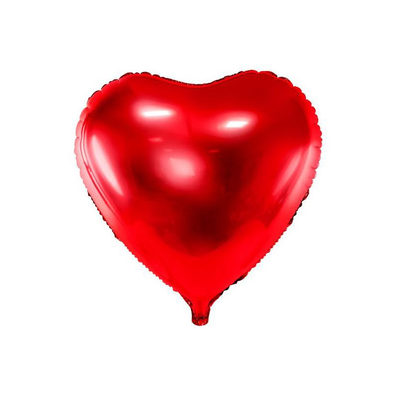 walentynkowe balony serca