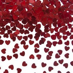 KONFETTI na Walentynki serca 30g CZERWONE