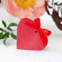 PUDEŁECZKA serca na Walentynki czerwone Love ( +wstążki )