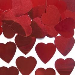 KONFETTI na Walentynki serca 10g CZERWONE