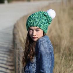 CZAPKA zimowa On top of the world RĘCZNIE ROBIONA W POLSCE