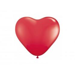 BALONY na Walentynki Czerwone Serca 6szt