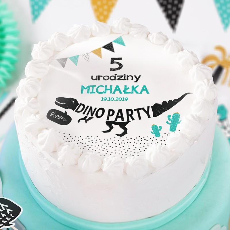 Opłatek na tort urodzinowy chłopca