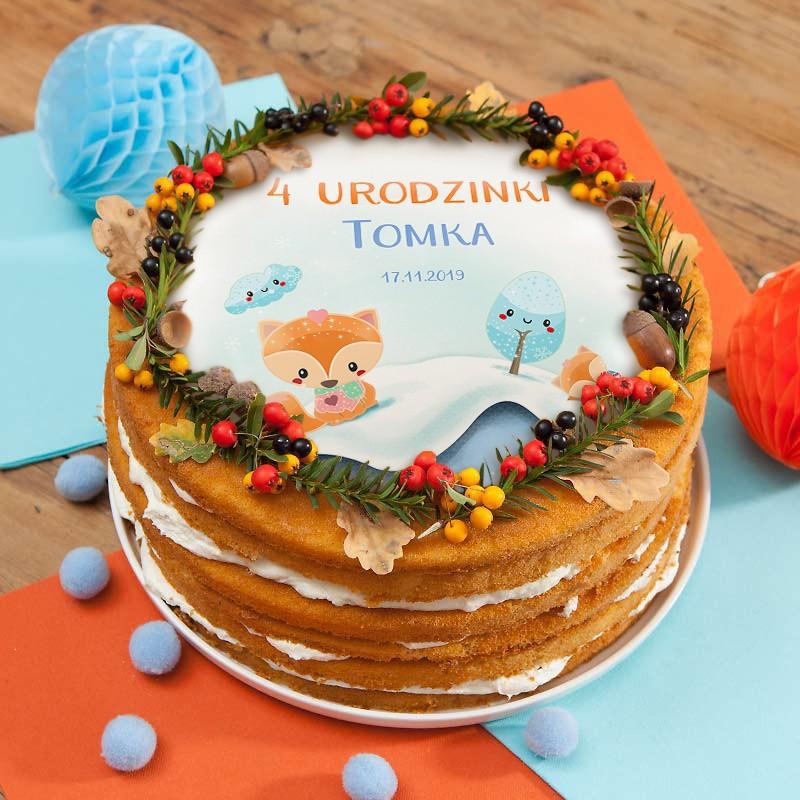 Opłatki na tort urodzinowy dla dziecka