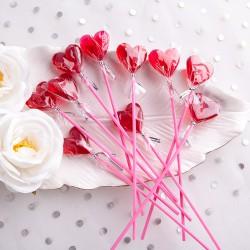 LIZAKI na Walentynki Urocze Serduszka 10szt