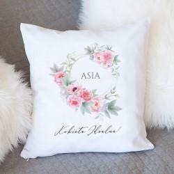 PREZENT dla Kobiety poduszka Śpiąca Królewna Z IMIENIEM Super Jakość