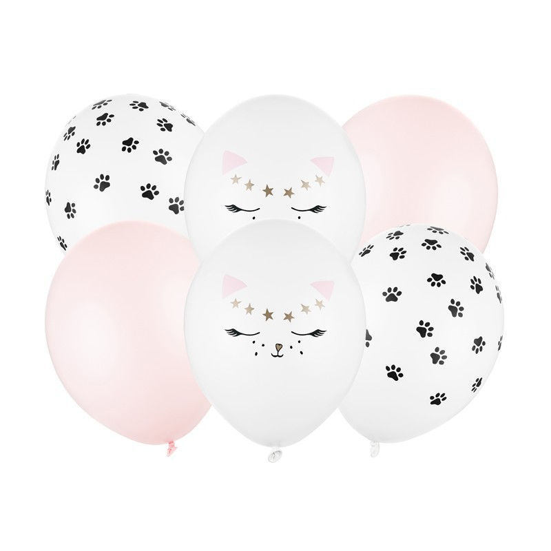 Zestaw balonów urodzinowych kotek