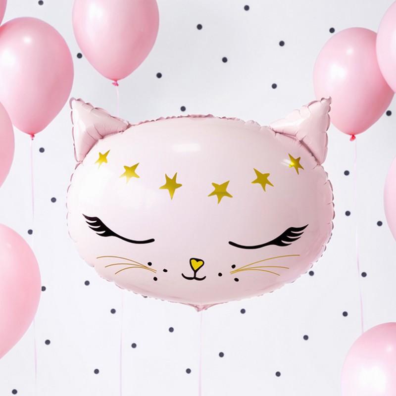 balon foliowy w kształcie kotka