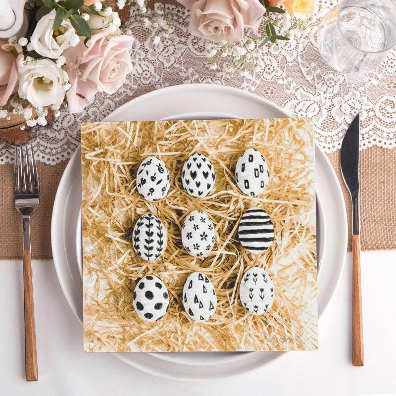 Serwetki Wielkanocne w pisanki