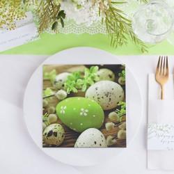 SERWETKI na Wielkanoc Jajka Wielkanocne 33x33cm 20szt