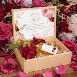 PROŚBA o bycie Świadkową wino musujące w skrzyni Marsala&Gold