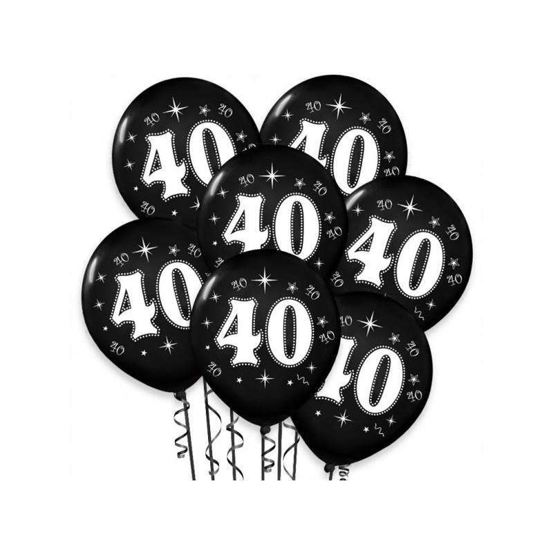 Balony na 40 Rocznicę Ślubu