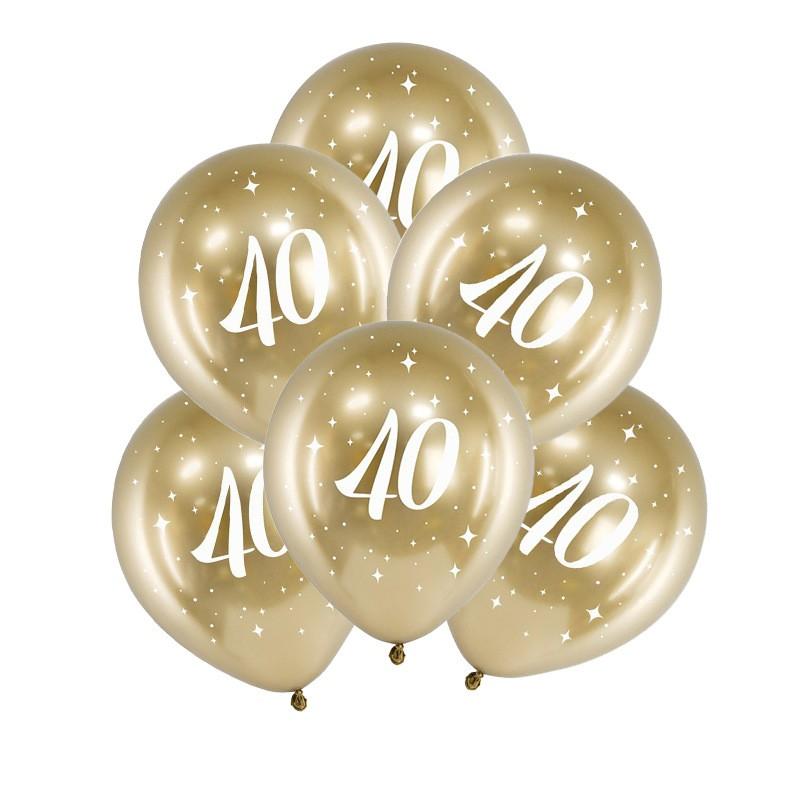 Balony na 40 rocznicę