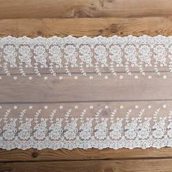 BIEŻNIK koronka dekoracyjna Classic 45cm x 9m