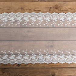 BIEŻNIK koronka dekoracyjna Exclusive 45cm x 9m