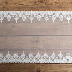 BIEŻNIK koronka dekoracyjna Lux 45cm x 9m