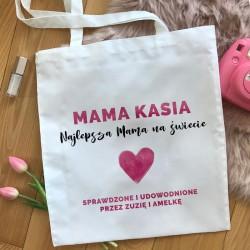 TORBA na zakupy dla Mamy Z IMIENIEM Najlepsza Mama