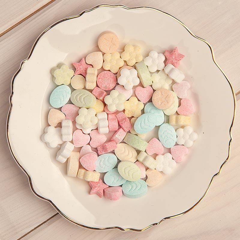 Cukierki pudrowe na Chrzest