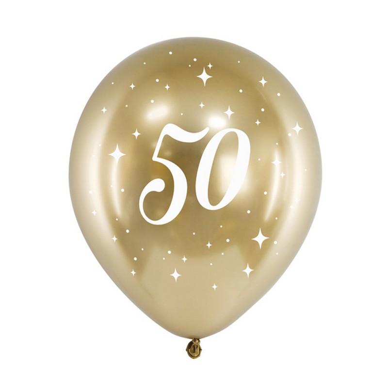 balony na 50 rocznicę ślubu