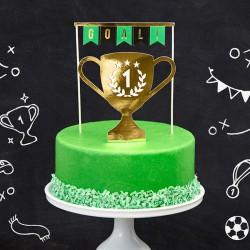 Topper na tort urodzinowy Piłka 15-20cm