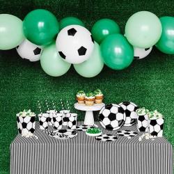 ZESTAW dekoracji na Urodziny Piłka 60szt