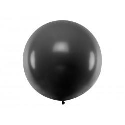 BALON olbrzym okrągły 1m Czarny