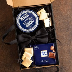 PREZENT na Kawalerski pudełko Z IMIENIEM Pomada dla dżentelmena LUX