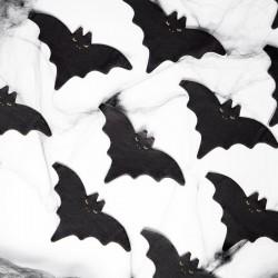 SERWETKI na Halloween Nietoperz Czarne 20szt