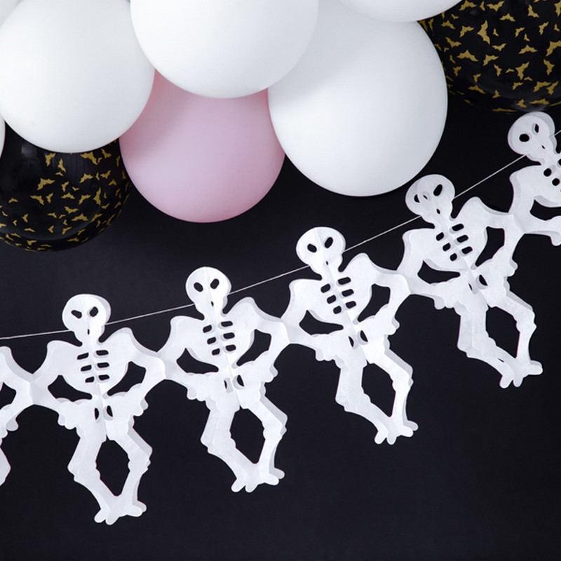 Girlanda na Halloween szkielety