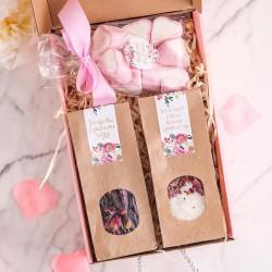 PREZENT dla Nastolatek Box Z IMIENIEM Różowy I MAŁY