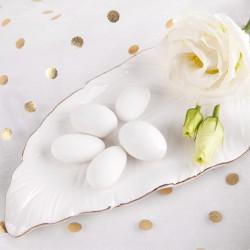 CZEKOLADA w lukrze biała+mleczna 1kg ok.200szt BIAŁA