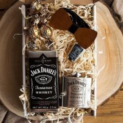 PREZENT świąteczny dla Niego Z PODPISEM pudełko Zestaw Jack Daniels