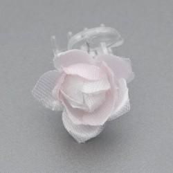 KLAMERKI do włosów Różowa Lilia 5szt (4)