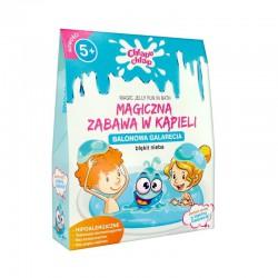 MAGICZNA zabawa w kąpieli Galarecia Niebieska