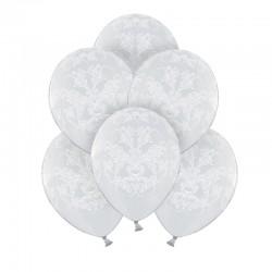BALONY komunijne White Dream 30cm 6szt