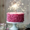 ZIMNE OGNIE na tort komunijny 40cm 5szt