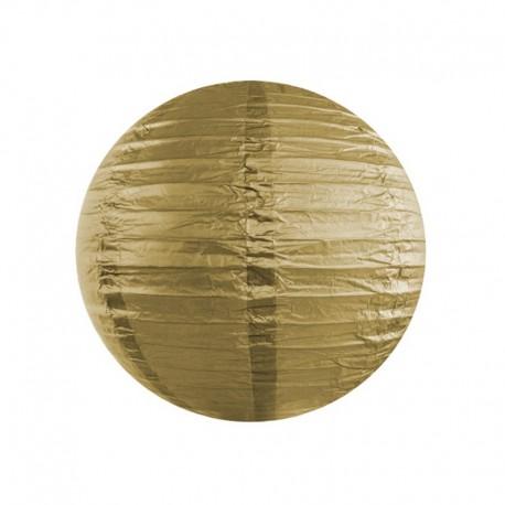KULA papierowa lampion 35cm ZŁOTY
