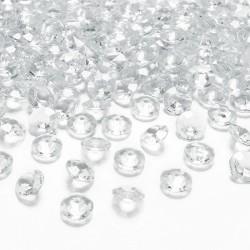 DIAMENCIKI ozdobne na stoły 100szt BEZBARWNE