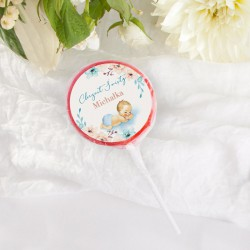 LIZAKI Smaki Dzieciństwa Chłopiec w Kwiatach (+etykiety z imieniem) 10szt