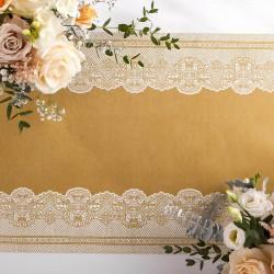 BIEŻNIK flizelinowy Złota Koronka 40cmx24m