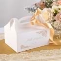 PUDEŁKA na ciasto z rączką Z IMIENIEM Komunia w Złocie 12szt