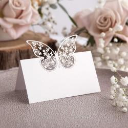 WINIETKI wizytówki Motyl w kwiatach 10szt