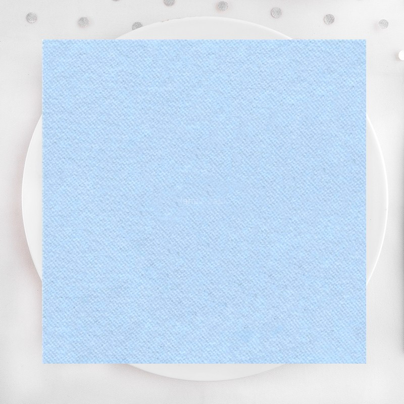 Serwetki flizelinowe niebieskie