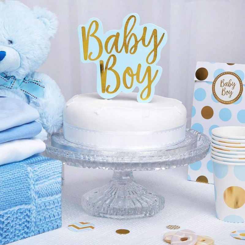 Topper na tort Baby Shower