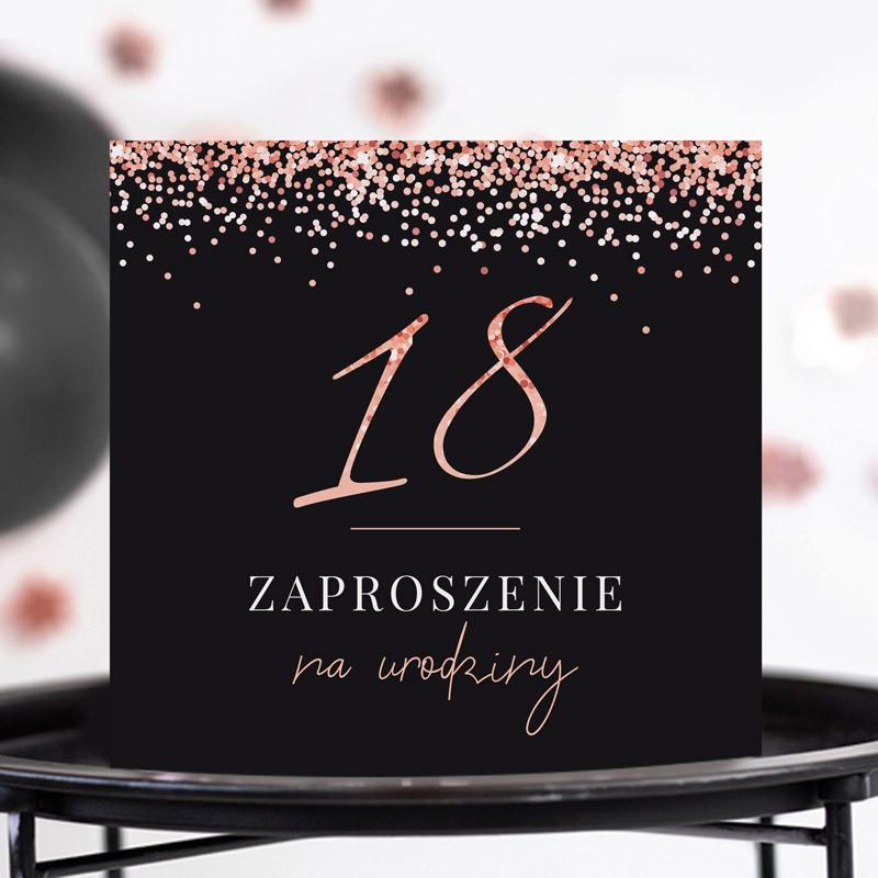 Zaproszenia na 18 roseglod