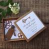 PREZENT na ślub dla Pary Młodej w pudełku kraft Klucz do szczęścia Z IMIONAMI